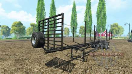 Semi-trailer timber for Farming Simulator 2015