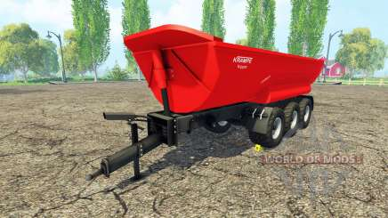Krampe Halfpipe HP30 for Farming Simulator 2015