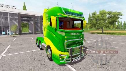 Scania R1000 John Deere for Farming Simulator 2017