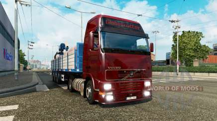 A collection of truck transportation to traffic v2.1 for Euro Truck Simulator 2