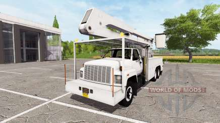 GMC C7500 TopKick bucket v1.1 for Farming Simulator 2017