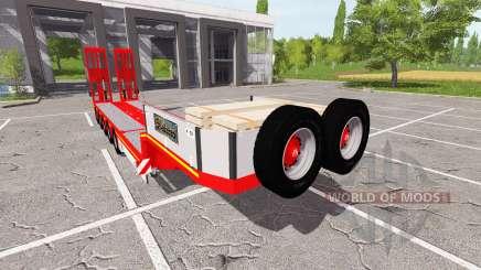 Doll Tieflader for Farming Simulator 2017