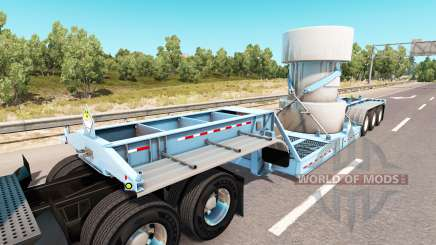 Low sweep with a cargo of nuclear waste for American Truck Simulator
