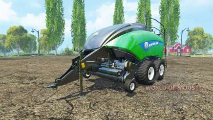 New Holland BigBaler 1290 gras bale v2.0 for Farming Simulator 2015