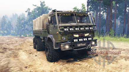 KamAZ 4310 Zone24 for Spin Tires