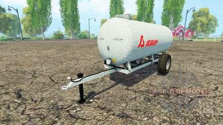 Agram water trailer for Farming Simulator 2015