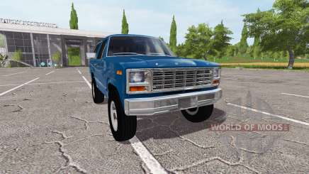 Ford Bronco XLT for Farming Simulator 2017