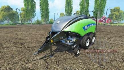 New Holland BigBaler 1290 gras bale v4.0 for Farming Simulator 2015