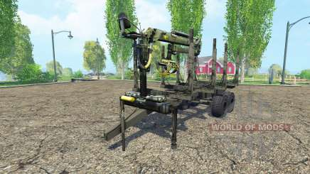 Timber trailer for Farming Simulator 2015
