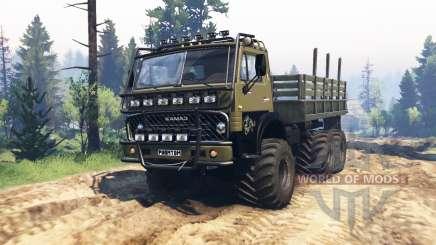 KamAZ 4310 Phantom v1.1 for Spin Tires