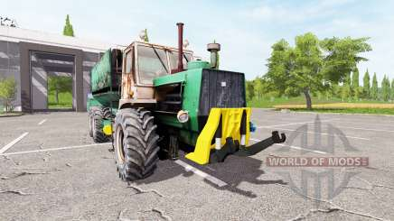 HTZ T 150K fodder mixer for Farming Simulator 2017