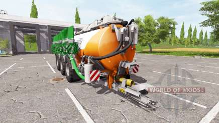 Kaweco 30000l orange for Farming Simulator 2017