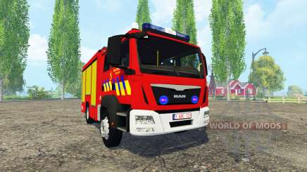 MAN TGM Belgian Fire Department for Farming Simulator 2015