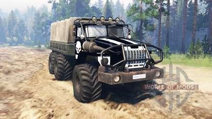 Ural 4320 OneShot v0.1 for Spin Tires
