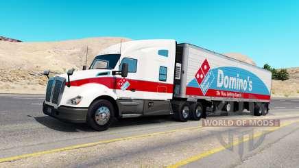 Skins for truck traffic v1.0.2 for American Truck Simulator
