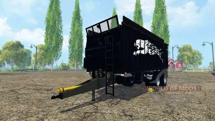 Fliegl ASW 268 black pantera for Farming Simulator 2015