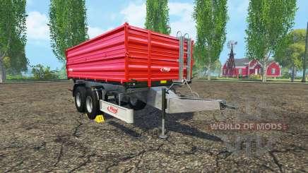 Fliegl TDK 160 v1.4 for Farming Simulator 2015