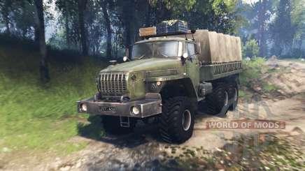 Ural 4320-31 v3.0 for Spin Tires
