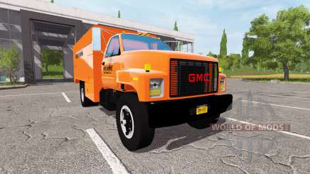 GMC C7500 Asplundh for Farming Simulator 2017