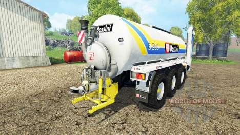Bossini B200 v3.2 for Farming Simulator 2015