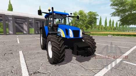 New Holland TL100A v1.1 for Farming Simulator 2017