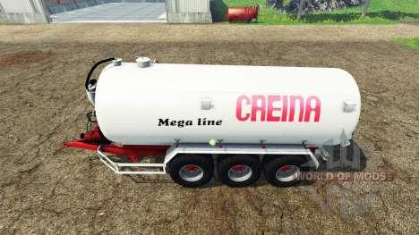 Creina CVC 25000 for Farming Simulator 2015
