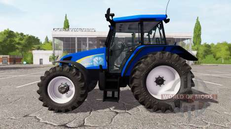 New Holland TL100A v1.1.1.1 for Farming Simulator 2017