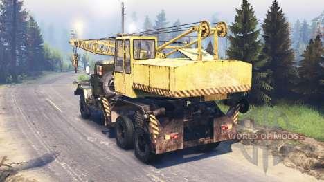 KrAZ 257 KS 4561 v2.1 for Spin Tires