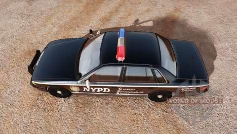 Gavril Grand Marshall NYPD v2.0 for BeamNG Drive