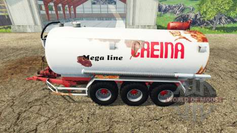 Creina CVC 25000 v1.1 for Farming Simulator 2015