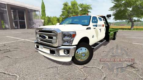 Ford F-350 rollback v1.1 for Farming Simulator 2017