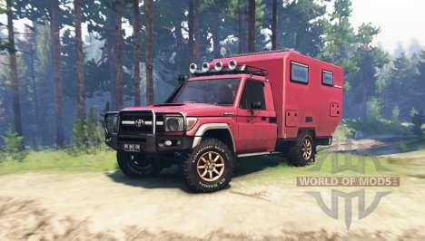 Toyota Land Cruiser 70 (J79) for Spin Tires