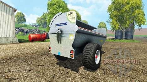 Marshall MS105 for Farming Simulator 2015