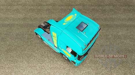 The skin Kazakhstan for tractor Scania for Euro Truck Simulator 2
