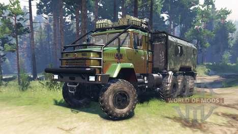 KrAZ 7140 v1.2 for Spin Tires
