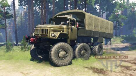 ZIL 131 Mongo for Spin Tires