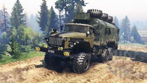 Ural 4320-10 Phantom v1.1 for Spin Tires