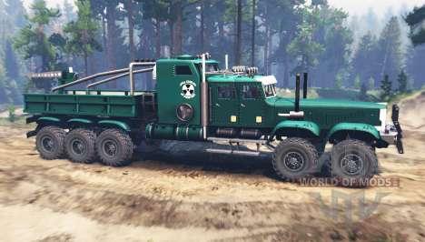 KrAZ 255 extended for Spin Tires