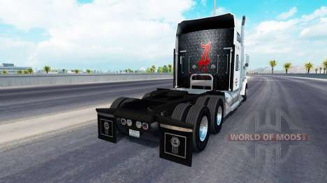 Skin Alabama on the truck Kenworth W900 for American Truck Simulator
