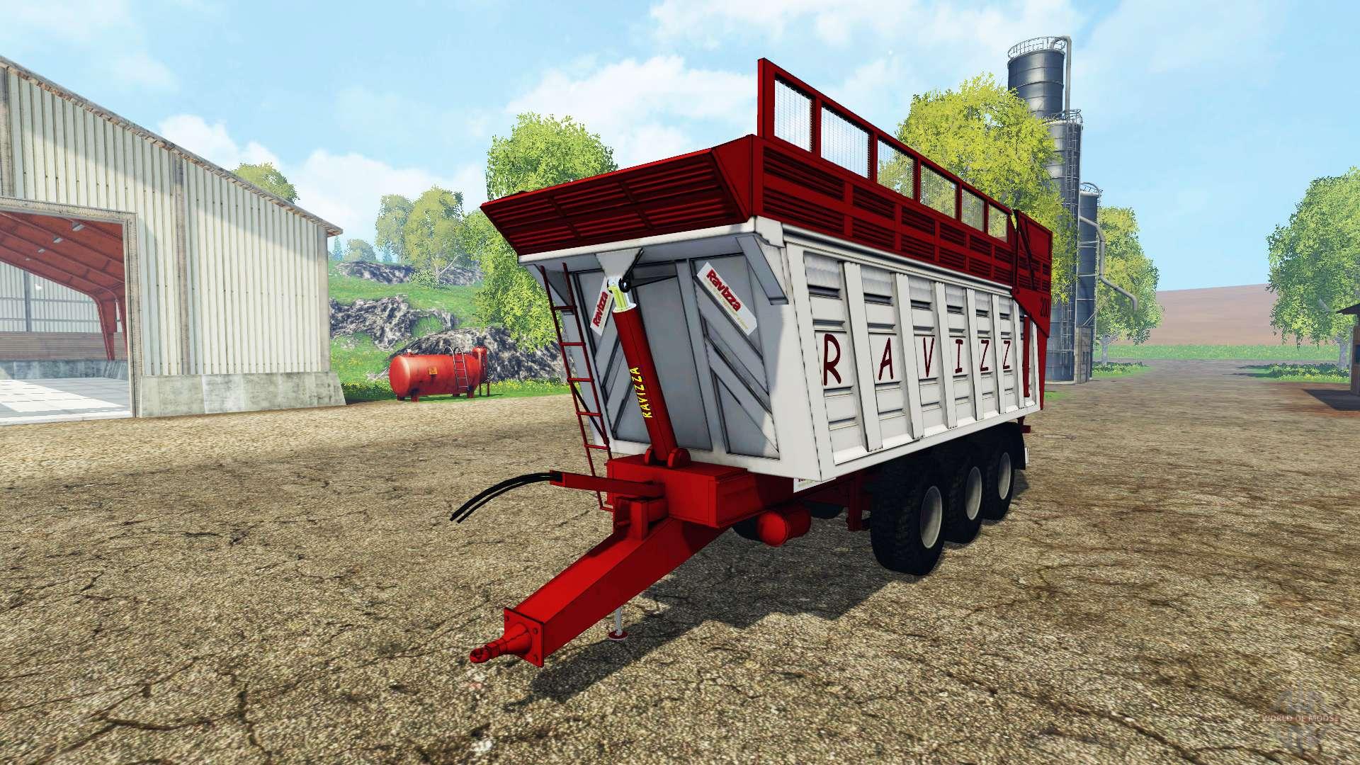 Ravizza EuroCargo 7200 For Farming Simulator 2015