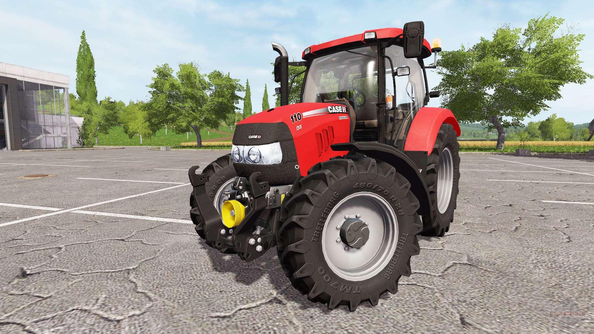 Case IH Maxxum 110 CVX v5.8.8 for Farming Simulator 2017