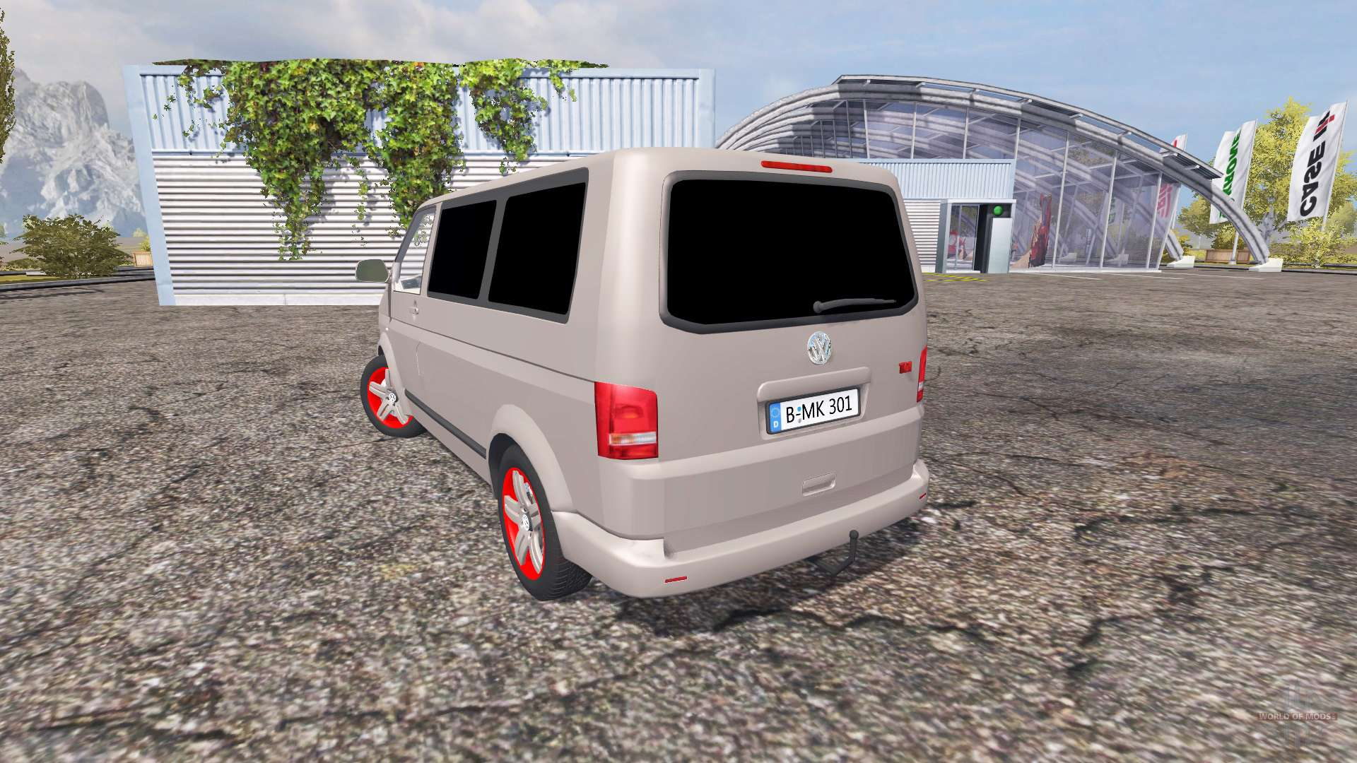 volkswagen caravelle t5 tdi v2 0 for farming simulator 2013. Black Bedroom Furniture Sets. Home Design Ideas