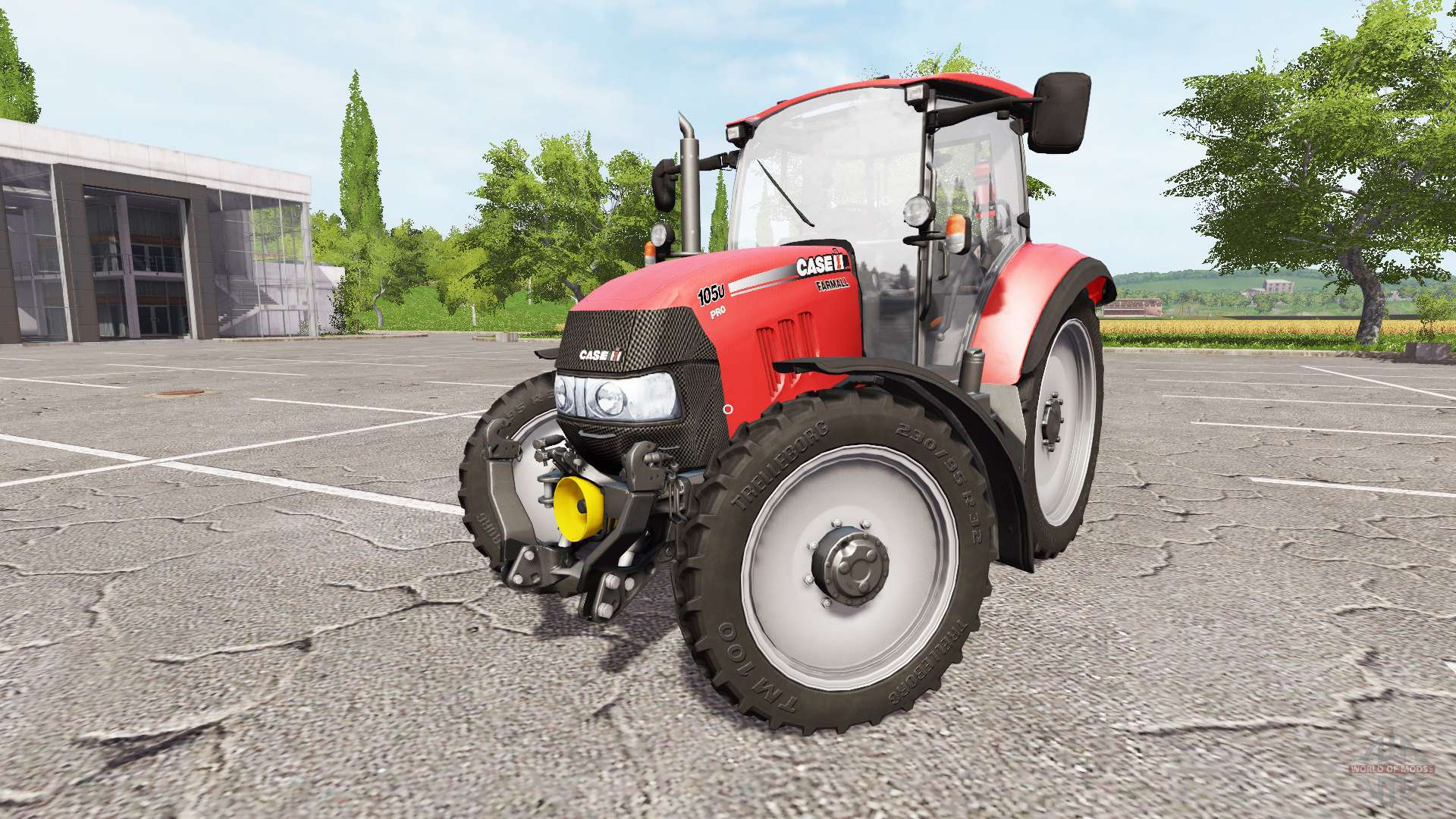 Case IH Farmall 105U Pro for Farming Simulator 2017