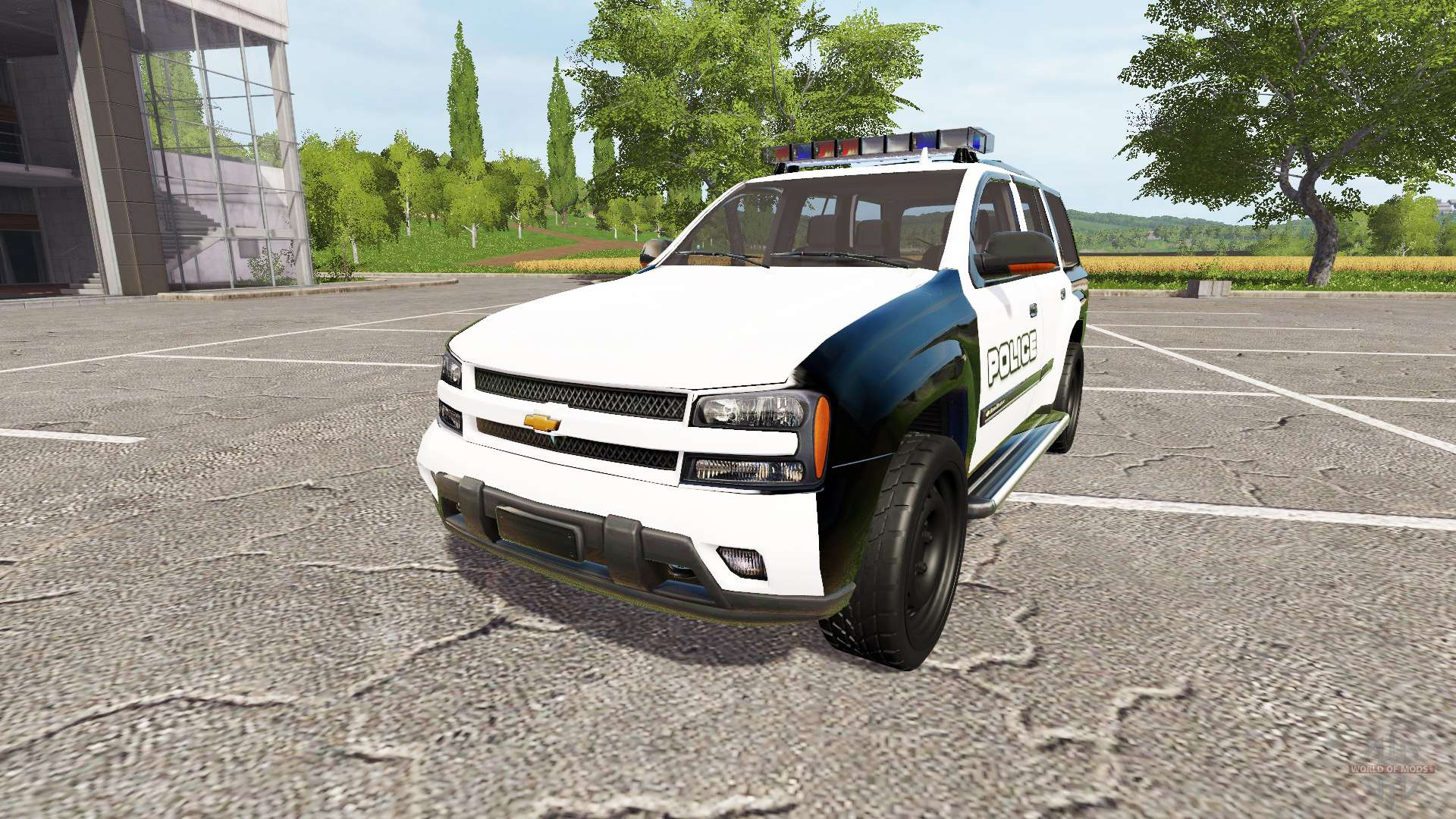 Chevrolet TrailBlazer Police for Farming Simulator 2017