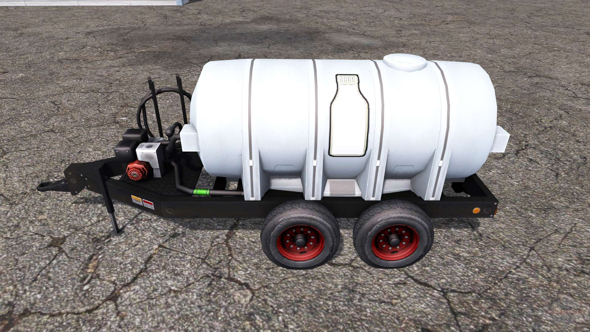 Milk tank for Farming Simulator 2013