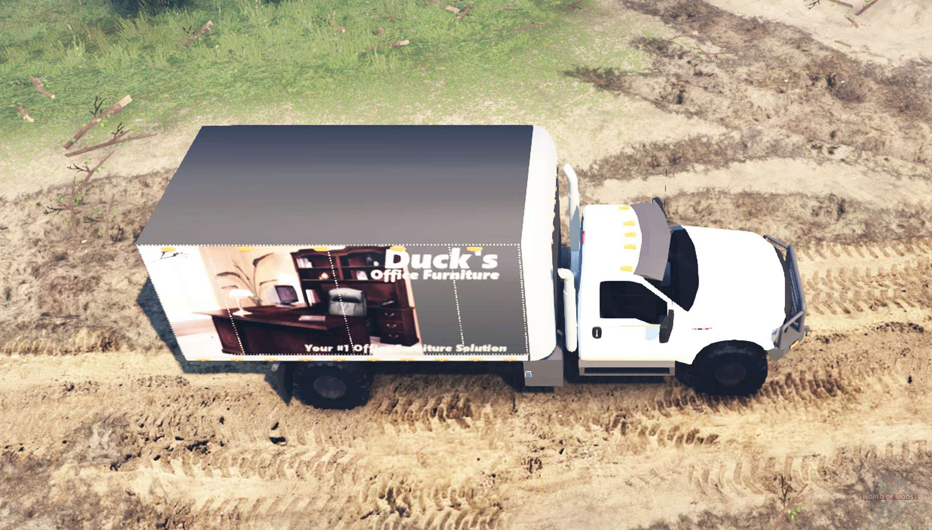 Ford f 450 super duty lwb for spin tires