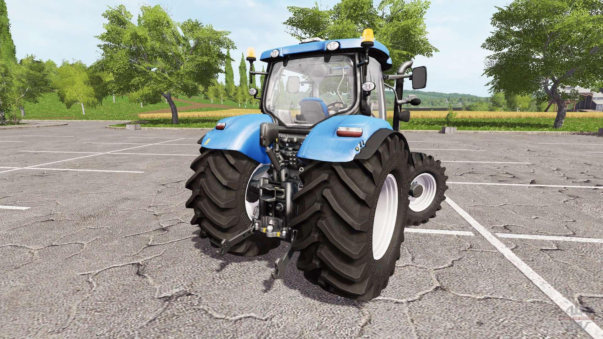 New Holland T7.200 V1.1 For Farming Simulator 2017