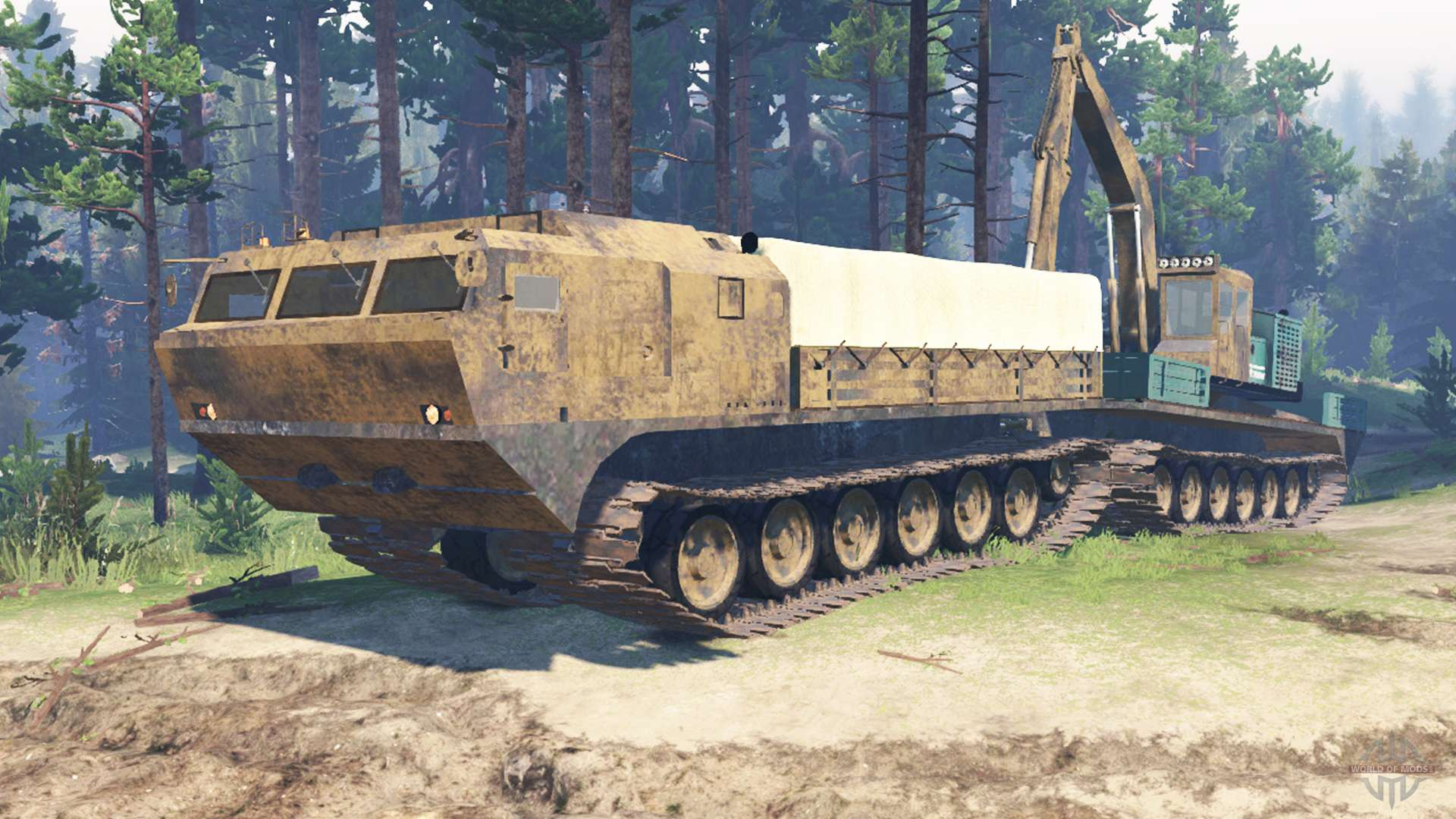 how to change vehicle on spintires