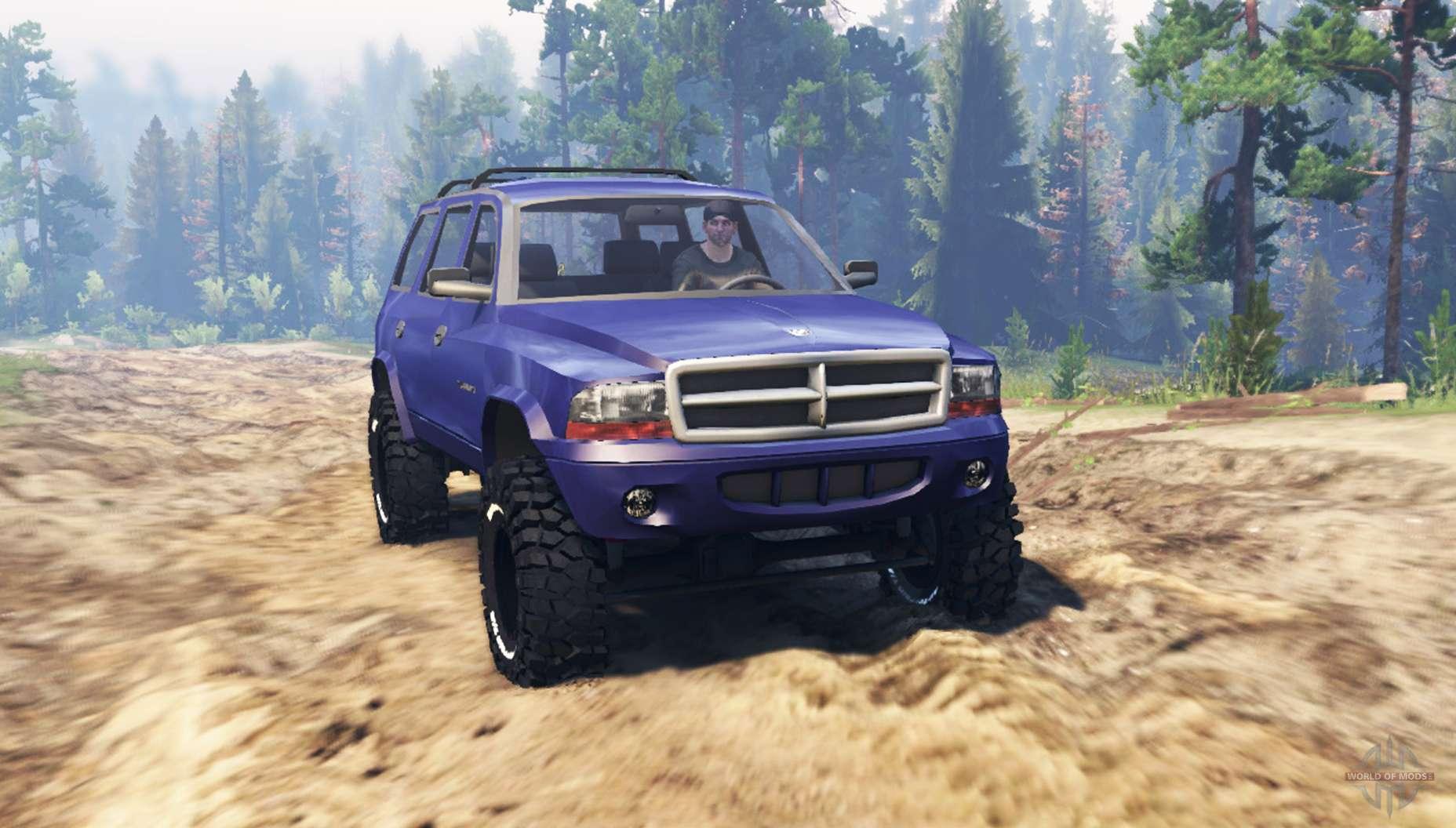 Spintires on 03 Dodge Durango
