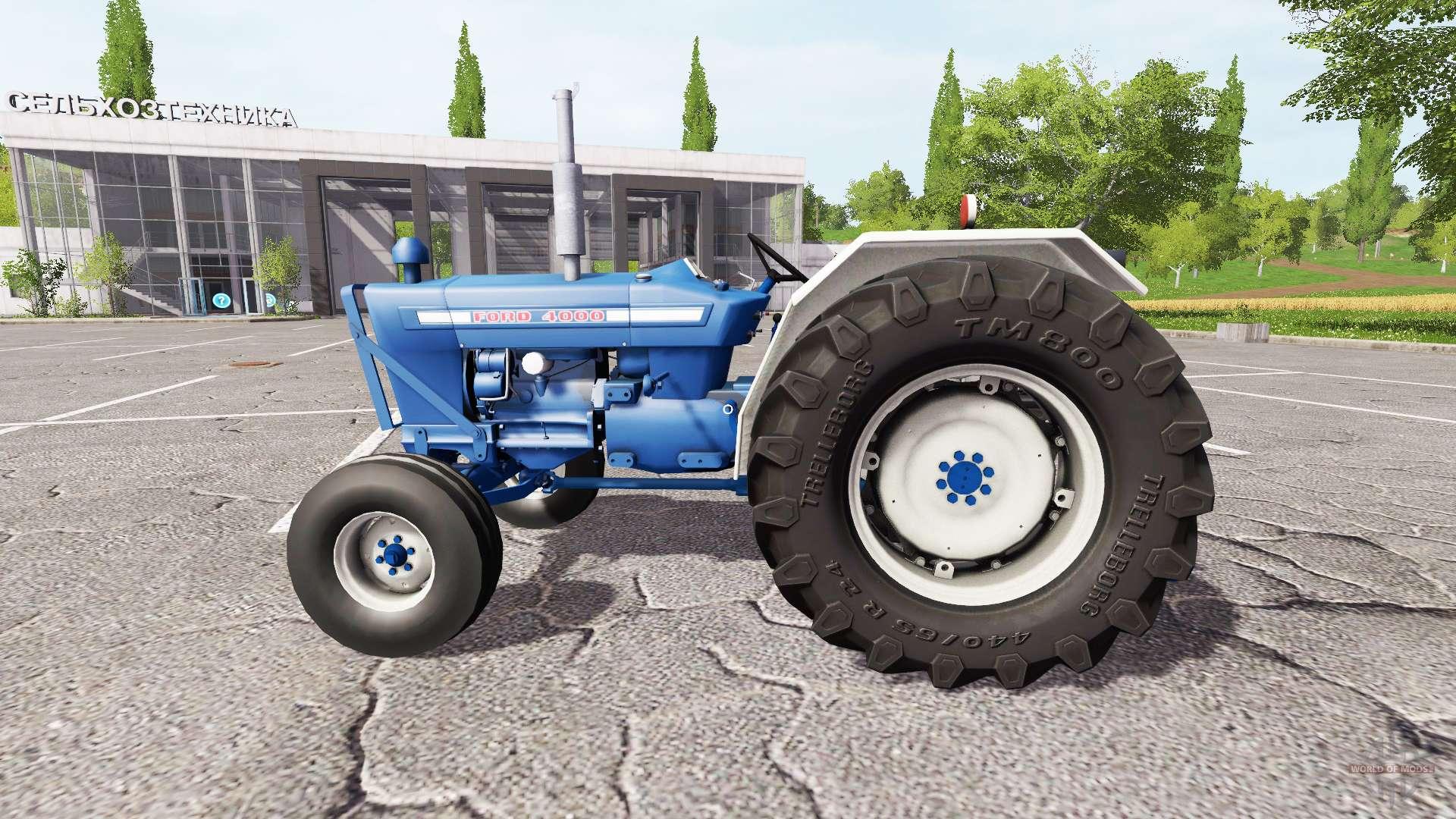 ford 4000 for farming simulator 2017. Black Bedroom Furniture Sets. Home Design Ideas